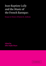 Jean-Baptiste Lully and the Music of the French Baroque