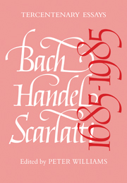 Bach, Handel, Scarlatti 1685–1985