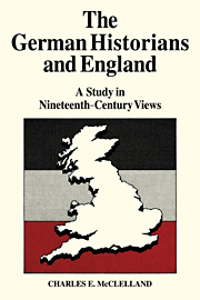 The German Historians and England