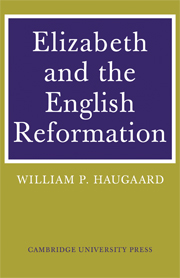 Elizabeth and the English Reformation