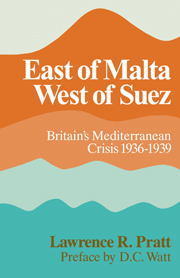 East of Malta, West of Suez