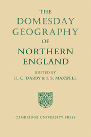 Domesday Geography of England