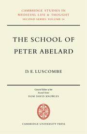 The School of Peter Abelard
