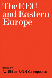 The EEC and Eastern Europe