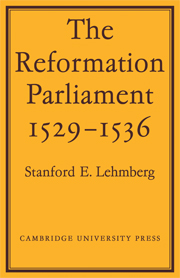 The Reformation Parliament 1529–1536