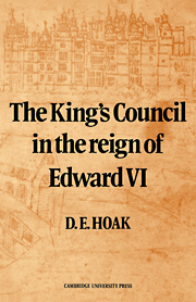The King's Council in the Reign of Edward VI