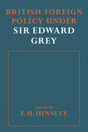 British Foreigh Policy under Sir Edward Grey