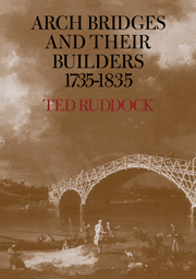 Arch Bridges and their Builders 1735–1835
