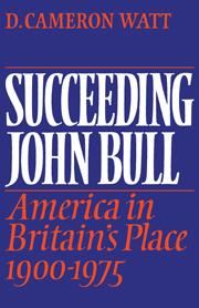 Succeeding John Bull