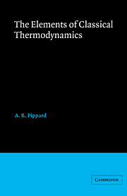 Elements of Classical Thermodynamics:For Advanced Students of Physics