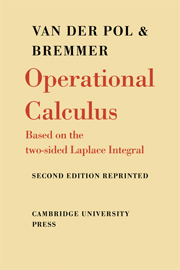 Operational Calculus