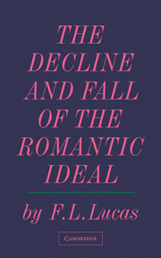 The Decline and Fall of the Romantic Ideal