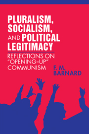 Pluralism, Socialism, and Political Legitimacy
