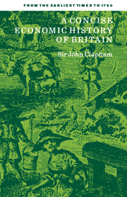 A Concise Economic History of Britain
