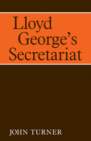Lloyd George's Secretariat