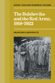 The Bolsheviks and the Red Army 1918–1921