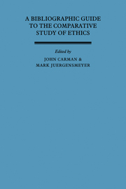 A Bibliographic Guide to the Comparative Study of Ethics