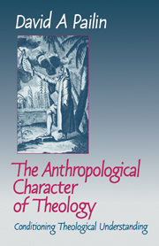 The Anthropological Character of Theology