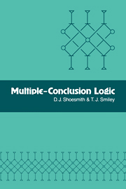 Multiple-Conclusion Logic