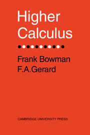 Higher Calculus