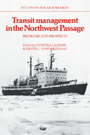 Transit Management in the Northwest Passage