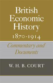 British Economic History 1870–1914