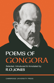 Poems of Góngora