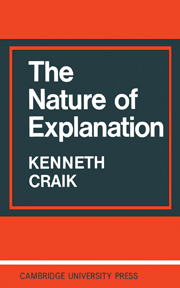 The Nature of Explanation