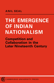 The Emergence of Indian Nationalism