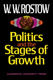 Politics and the Stages of Growth