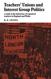 Teachers' Unions and Interest Group Politics