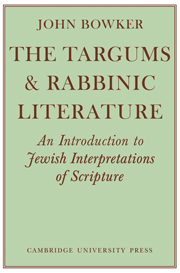 The Targums and Rabbinic Literature