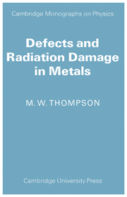 Defects and Radiation Damage in Metals