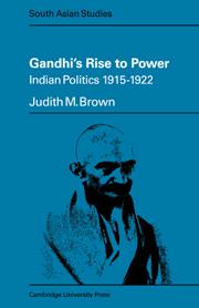 Gandhi's Rise to Power