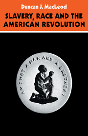 Slavery, Race and the American Revolution