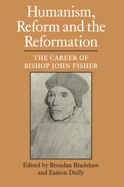 Humanism, Reform and the Reformation