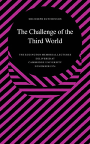 The Challenge of the Third World