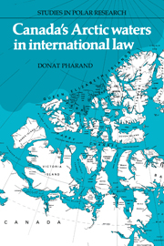 Canada's Arctic Waters in International Law
