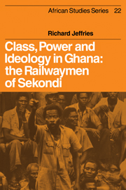 Class, Power and Ideology in Ghana