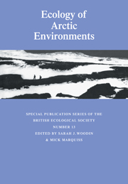 Ecology of Arctic Environments
