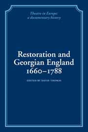 Restoration and Georgian England 1660-1788