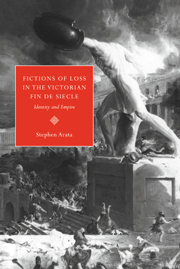 Fictions of Loss in the Victorian Fin de Siècle