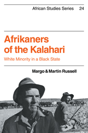 Afrikaners of the Kalahari