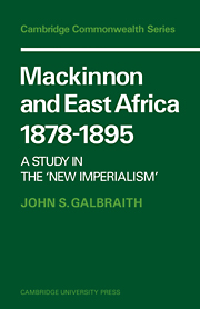 Mackinnon and East Africa 1878–1895