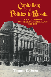 Capitalism and Politics in Russia