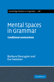 Mental Spaces in Grammar