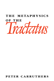 The Metaphysics of the Tractatus