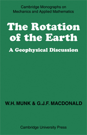 The Rotation of the Earth