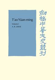 T'ao Yüan-ming