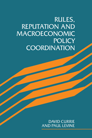 Rules, Reputation and Macroeconomic Policy Coordination